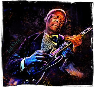 B.B. King by Chrisdesign
