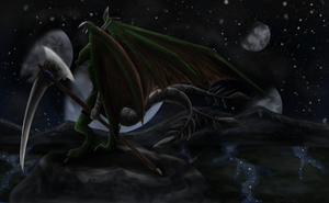 The night guard by Crazy-Cat009