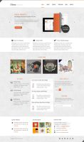 Onces: Modern and Clean PSD by ahmedchan