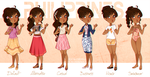 .:APH:. Philippines Outfit Lineup by kamillyanna