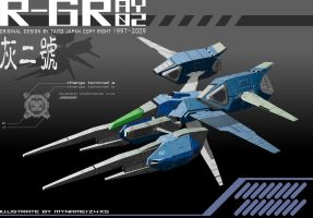 R-GRAY 02 render complete A by 4-X-S