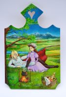 Howl's Moving Castle: Cutting Board by DoodleDuo