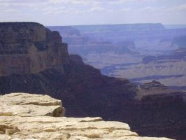 Grand Canyon ledge stock by MiracleSky
