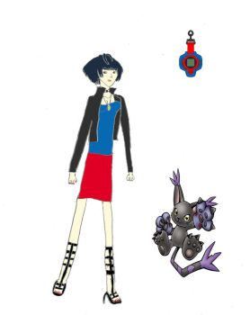 Tae Takemi - Digimon AU by DaVonteWagner