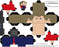 Cubee - Rory Williams by CyberDrone