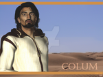 Official SOL Wallpaper: Colum by space-wolf