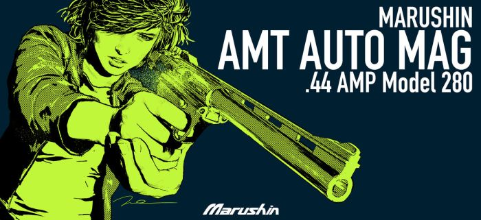 MARUSHIN AMT AUTO MAG BOX ART Dirty Sally 3 by AldgerRelpa