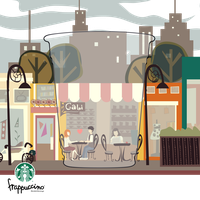 By your side- Starbucks entry by Black-sania
