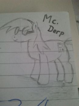 MLP: Ask Mc. Derp by PixelBrony