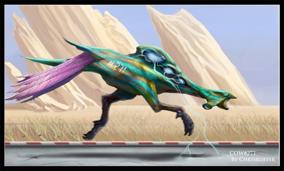Warp steed by Agent-Chris
