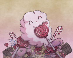 Swirlix in Candy Land