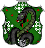 Slytherin Crest by witcheewoman