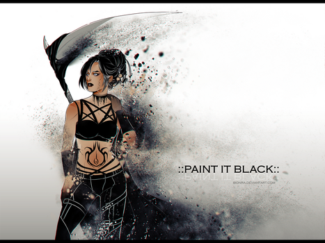 ::Paint it Black:: by sionra
