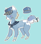 Sailor Dog by Creamcloudie