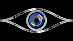 HTML5 Canvas test: eye by Rainforc3