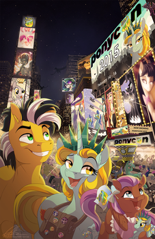 Ponycon NYC 2015 by dennyvixen
