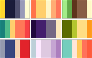 color palettes 2 by RRRAI