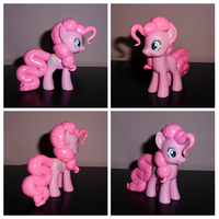 Show-Accurate Mane and Tail Sculpted Pinkie Pie by UniqueTreats