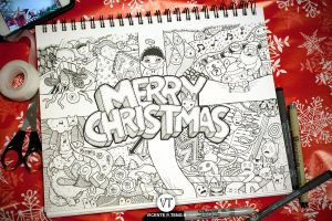 DOODLE: Merry Christmas!!! by vicenteteng