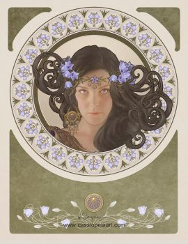 Miss Bluebell by CassiopeiaArt