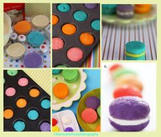 Colorful Cake Poppers with Instructions by theresahelmer