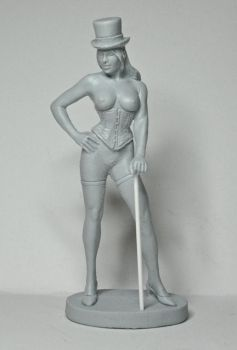 Vistorian Pin-up Girl, front by LocascioDesigns