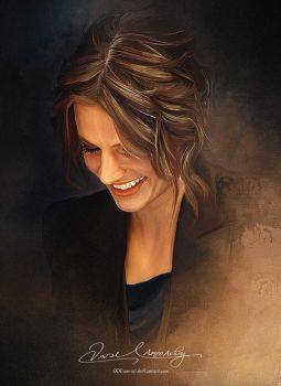 Pretty Face P2 -Stana Katic by artistamroashry