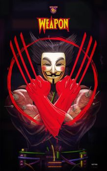 v for vendetta x wolverine by m7781
