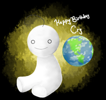 The World: Happy Birthday Cry by Tabby-chan15