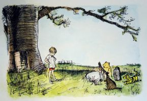 Winnie the Pooh by just1dreamer