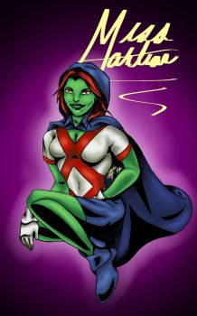 Miss Martian by Cristina37
