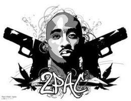 Rap's Finest : 2Pac. by Club-Vector
