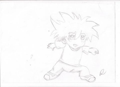 Bored. . .Anime boy by bds13