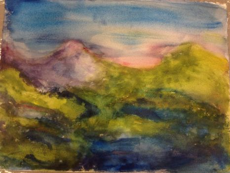 Mountains by alexandra133
