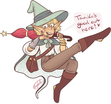 Taako's good out here! by KiraNohara