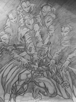 Batman Vs The Court Of Owls drawing by DiegoE05
