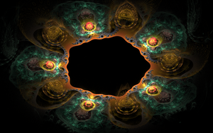 creative designed fractal earth by Andrea1981G