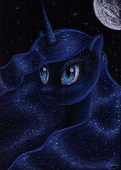 Princess Luna by Faye-Raven