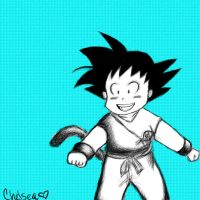 little goku by japanesebanana