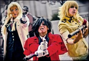 Hellsing: Armed and Ready by icequeenserenity