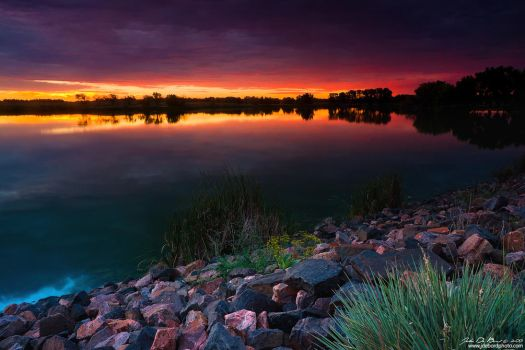 Lake Of Color by kkart