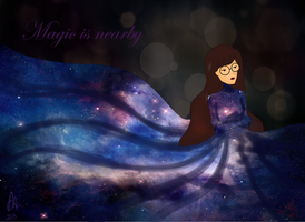 Magic is nearby by MyleneGautier