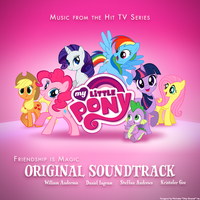 My Little Pony Soundtrack Album Art Cover Concept by OliveBranchMLP