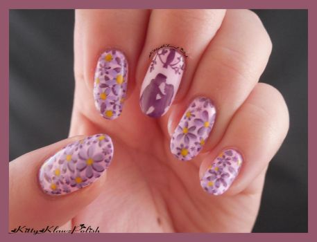 Nail Art: Love by KittyKlawzPolish