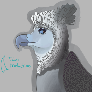 Harpy Eagle Griffin by TalonProductions