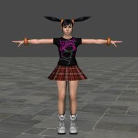 Tekken 6 - Ling Xiaoyu 'TapouT' outfit by Sterrennacht