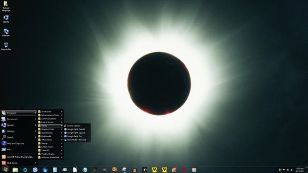 Windows 7 on Spanky - Totality by slowdog294