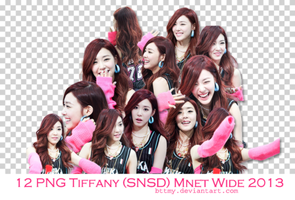 12 PNGs Tiffany (SNSD) Mnet Wide 2013 by Mynie by bttmy