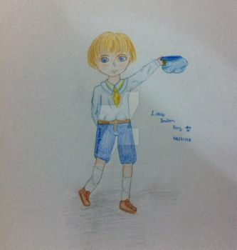 Weekly Drawing Challenge #2: Sailor Boy by PoppingTart
