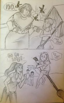 Molly vs Ginny: Parenting by DidxSomeonexSayxMad